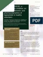 Efectos de HM3018 1 Con Loperamida