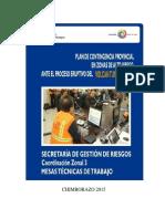 Plan de Contingencia VT - Chimborazo2015
