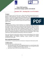 PhD Position UP13 2017 V3