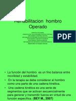 Rehabilitacion Hombro Operado