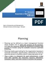 Planning EOM