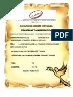La Contabilidad de Las Finanzas Internacionales y Derivados-nic 39 y 32