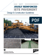 CRCP Design and Construction Guidelines