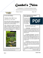 May 2007 Gambel's Tales Newsletter Sonoran Audubon Society