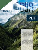 El Tren Que Viaja Entre Volcanes, Ecuador