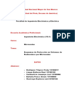 Esquemas de Proteccion en Sistemas de Radioenlaces Por Microondas