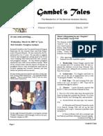 March 2007 Gambel's Tales Newsletter Sonoran Audubon Society