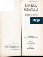 Booth, Retorica Romanului