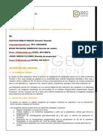 Carta de Presentación GEO DRONE S.a.C.
