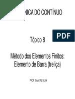 Elemento Barra