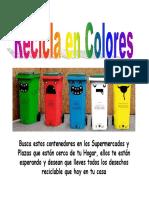 Recicla en Colores