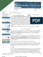 DUTIES of CLERK, Fla. Statutes & Constitution