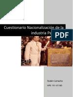 Nacional i Zac i on Petro Leo Ruben Camacho