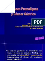 Confer en CIA de Lesiones Pre Malign As y Cancer Gastrico