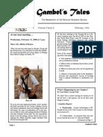 February 2008 Gambel's Tales Newsletter Sonoran Audubon Society