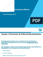 Causas y Prevencion de Fallas de Recubrimientos - Marino