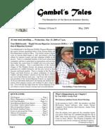 May 2009 Gambel's Tales Newsletter Sonoran Audubon Society