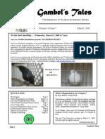 March 2009 Gambel's Tales Newsletter Sonoran Audubon Society