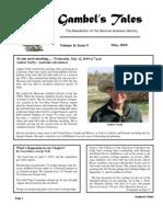 May 2010 Gambel's Tales Newsletter Sonoran Audubon Society