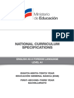 Curriculum Specifications EFL-SPECS -Level-A1 (2)