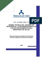 (04) Norma Técnica N 018 - Referncia Contrareferencia SRC (1)