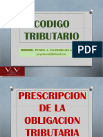 Prescripcion de La Obligacion Tributaria