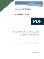 Ensayo Antropologia