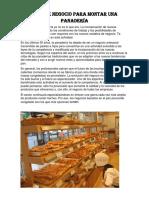 Plan de Negocio Para Montar Una Panadería