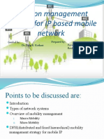 Location Management Strategy for IP Based Mobile Network