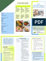 Leaflet Diet Rendah Lemak Dan Kolesterol