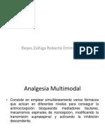 Analgesia Multimodal y Escalera Terapeutica