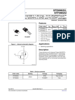 Transistor Power MOSFETs in DPAK 5N52SU