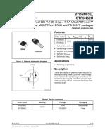 Transistor Power MOSFETs in DPAK 5N52SU