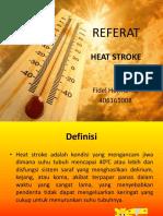 Referat Heat Stroke