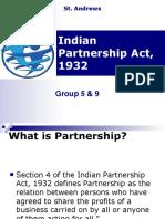 Indian Partnership Act, 1932