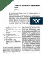 Balancing Bundle-conductor Transmission-line Constants