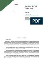 Analisis Swot Samsung