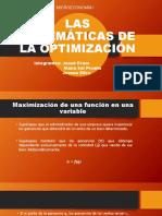Las Matemáticas de La Optimización
