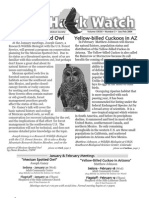 Jan-Feb 2004 Wingtips Newsletter Prescott Audubon Society