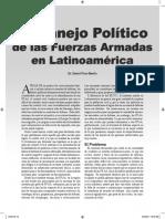 Pion-Berlin 2005 El manejo político de las FFAA en Latinoamerica