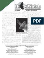 March-April 2006 Wingtips Newsletter Prescott Audubon Society
