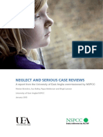 Neglect Serious Case Reviews Report
