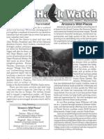 May-Summer 2007 Wingtips Newsletter Prescott Audubon Society