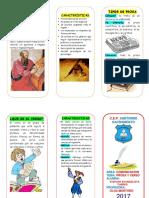 TRIPTICO Prosa y Verso