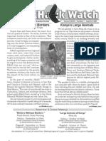 September-October 2007 Wingtips Newsletter Prescott Audubon Society