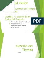 1er Trabajo PMBOK-5-6-Gestion_del_Tiempo y Costo