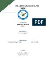 Tarea 6 de Didactica General
