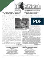 March-April 2008 Wingtips Newsletter Prescott Audubon Society