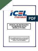Manual PHmetro de Bancada - Icel