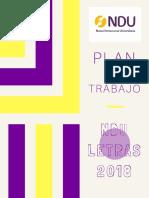 Plan NDU CF Letras 2018